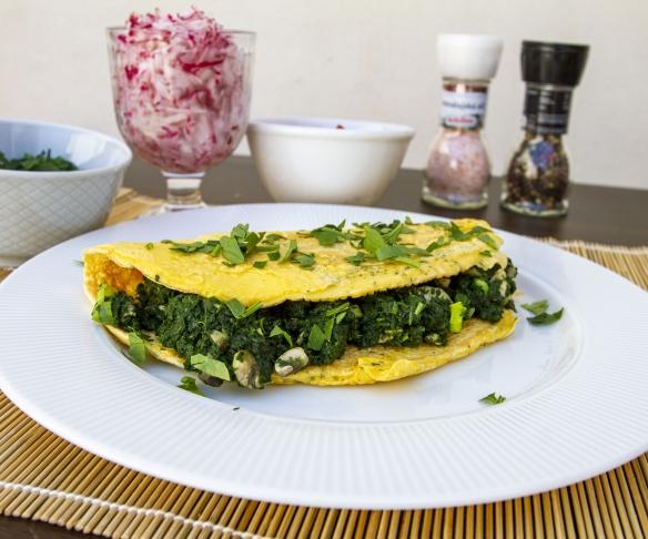 Jak připravit středomořskou omeletu