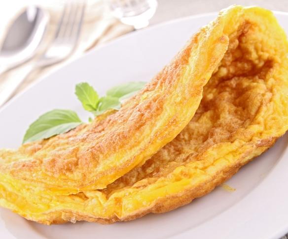 Jak si připravit omeletu s příchutí sýra