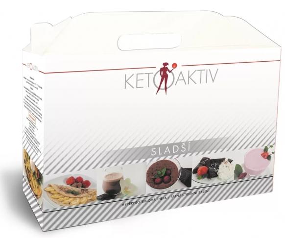 KETOAKTIV® Sladší, box na 15 dnů, 45 jídel