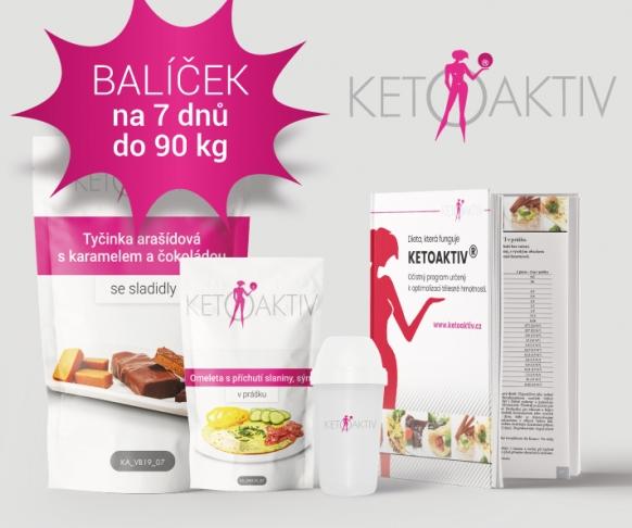 Balíček na 7 dnů pro osoby vážící do 90 kg 1. etapa