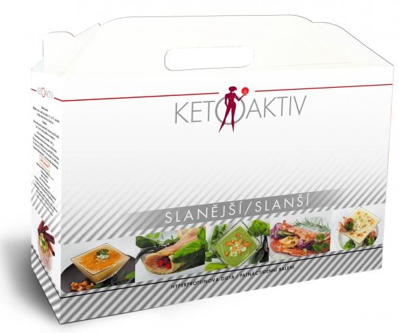 KETOAKTIV® Slanější, box na 15 dnů, 45 jídel + 3 jídla a šejkr zdarma